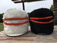 Stanbury Medalist Shako Bear Faux Fur  Band Helmet Hat Marching School VINTAGE
