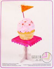 Sizzix Bigz XL Cupcake Stand & Pennant die #657728 Retail $39.99 Retired SWEET!