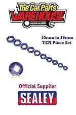 ⭐️ Sealey AK27095 10 piece Magnetic Socket Insert Set Metric 10mm - 19mm ⭐️