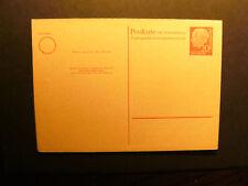 BRD Nr. P 22 Postkarte mit Antwortkarte ** (NN 998)