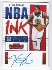 2017-18 Kevin Durant 10/10 On-Card Auto Exchange Card Panini Contenders Warriors