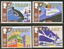 Gb Mnh Scott 1213-1216, 1988 Europa transporation set of 4