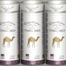 Camelicious Camel Milk  Long Life Whole Long Expiry date 09/2020 3 x 235ml
