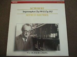 SCHUBERT - IMPROMPTUS OP. 90 & OP. 142 -LP- PHILIPS - 422 237-1 - ALFRED BRENDEL
