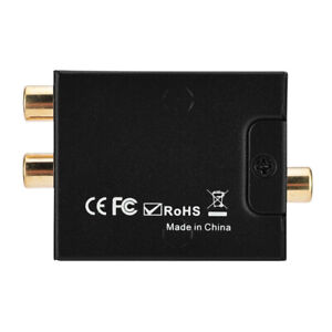 Digital Converter Coaxial/ Digital To Analog L/R Audio Converter For Home Audio