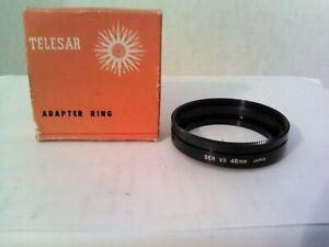 Telesar Japan SER VII 48mm Adapter Ring Original Box NOS
