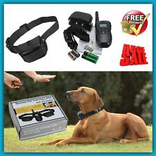 Dog Training Collar With Remote Stop Barking Pet Behavior Animal Train Repellent