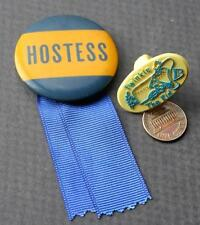 1960-70s Era Hostess Twinkie the Kid pin & ring 2 piece set-Cupcakes-Ding Dongs!
