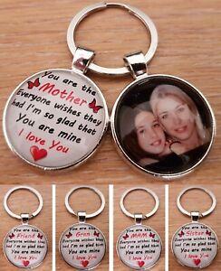 Personalised Keyring Mammy Mam Nana Sister Nan Gran Friend Mothers Day Keyring