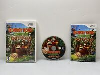 Nintendo Donkey Kong Country Returns COMPLETE IN BOX TESTED (Nintendo Wii, 2010)