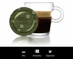 ☕️ CHEAPEST - GENUINE NESPRESSO POD CAPSULES - 200 ESPRESSO FORTE + FREE P&P ☕