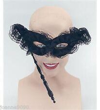 NUEVO de mujer Encaje Negro Cara Baile Máscaras Veneciano Ojos Máscara