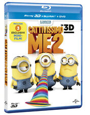 Cattivissimo Me 2 (3D) (Blu-Ray 3D + Blu-Ray + DVD) UNIVERSAL PICTURES
