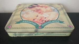 Collectable Whitman's Assorted Chocolates Hinged Tin - Mother & Baby