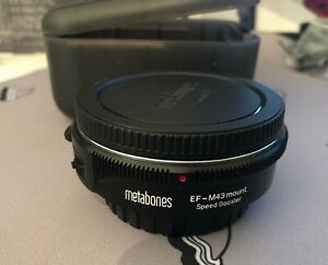 Metabones Canon EF Lens to M43 Speed Booster
