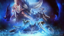 254896 Monster Hunter Moster Fight Game GLOSSY PRINT POSTER FR