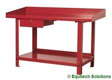 Sealey Tools AP1015 Steel Metal Workbench with Drawer Garage Workshop 1500mm New