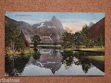 R&L Postcard: Romsdalshorn Norway 1904,Rauma, Åndalsnes