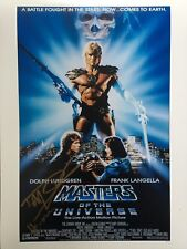 *NEW* Dolph Lundgren Signed Masters Of The Universe Photo B COA & Photo Proof