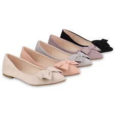 Klassische Damen Ballerinas Spitze Slippers Business Slip Ons 821067 Schuhe