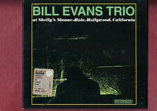 BILL EVANS TRIO-AT SHELLY'S MANNE HLE HOLLYWOOD CD SLIDEPACK APERTO NON SIGILLAT