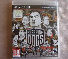 Sleeping Dogs Eccellente 1a Stampa Italiana con manuale Ps3