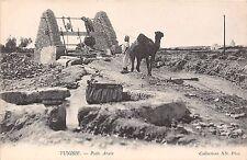 Africa postcard Tunisia Tunis Tunisie Puits Arabe