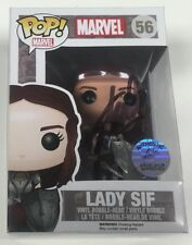 Marvel Thor Lady Sif Vaulted Funko Pop #56 Signed by Stan Lee