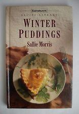 SAINSBURY'S RECIPE LIBRARY WINTER PUDDINGS BY SALLIE MORRIS - HARDBACK