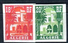 ALGERIE 1957 Yvert 340A-341 ** POSTFRISCH UNGEZÄHNT (F3499