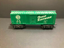 Marx 8 Wheel Green Great Northern Boxcar #34178