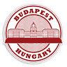 2 x 10cm Budapest Hungary Vinyl Stickers - Travel Luggage Sticker #30936