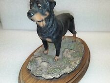 More details for  rottweiler sculpture ornament figurine statue collectable gift
