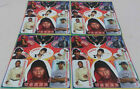 USHER STICKERS, 4 SHEETS