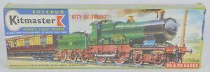 RARE KITMASTER 24 MODEL RAILWAY CITY OF TRURO LOCO IN ITS ORIGINAL CELLOPHANE