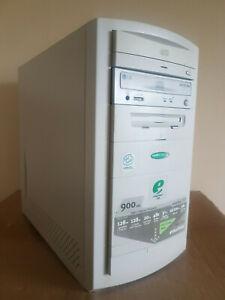 Emachines 130 Vintage Windows 98SE PC desktop Computer 256MB Comm Parallel Port