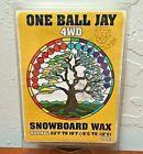 One Ball Jay 4WD Normal 23F to 10F Ski Snowboard Wax 155g Snowax Hot Waxing