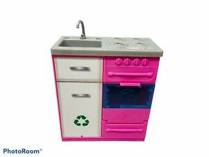 Barbie DREAMHOUSE Replacement FHY73 STOVE SINK OVEN Sounds, Lights Dream House.