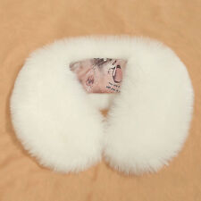 Fashion Luxury Women Ladies Faux Fur Collar Scarf Thick Soft Warm Fuzzy Wrap