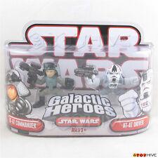 Star Wars Galactic Heroes AT-AT Commander and AT-AT Driver 2 figure pack