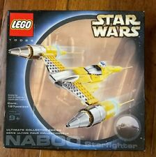 LEGO STAR WARS ULTIMATE COLLECTOR SERIES NABOO STARFIGHTER 10026 RETIRED NEW