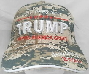 Donald Trump 45th President USA 2020 Keeping America Great adjustable cap/hat
