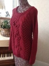 Fat Face Women's Long Sleeve Chunky, Cable Knit Knit Jumpers & Cardigans
