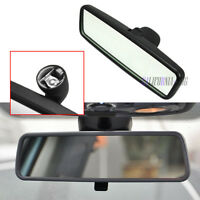 Black Interior Rear View Mirror For VW Jetta MK4 MK5 Passat B5 B6 Bora Polo