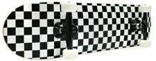 Krown KPC310BLKWHT ABEC 5 Checker Skateboard Pro Complete - Black/Green