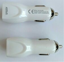 Speedy USB Car Charger Dual Port 4.8A 24W For All Phone Model Android &IOS phone