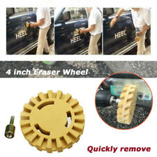 4 inch Rubber Eraser Wheel Remove Car Glue Adhesive Sticker Decal Graphic Tools