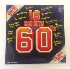 16 Big Hits Of The 60s Vinyl LP MFP50405 Rock n Roll Surf Doo Wop Pop Soul EX