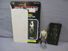 STAR WARS Vintage HAN SOLO IN CARBONITE Complete Power of the Force POTF 1985