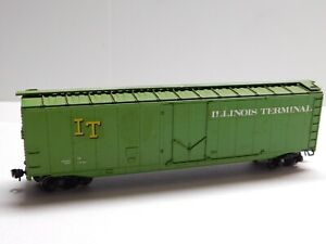 HO Scale - Athearn - Custom Illinois Terminal 50' Box Car Train IT